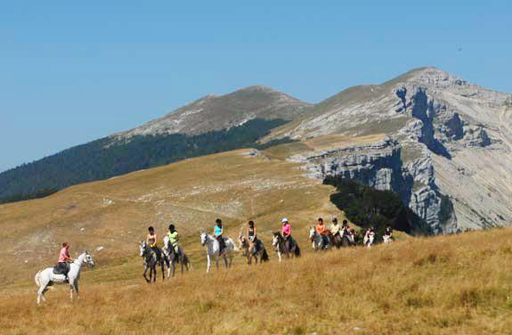 randonnee cheval ado vercors | Destinations Cheval