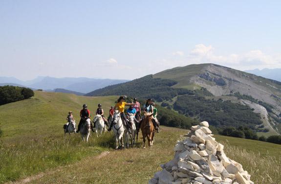 randonnee equestre ados vercors | Destinations Cheval