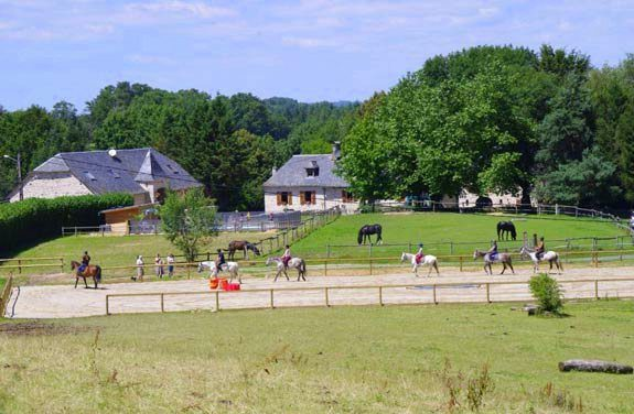 colonie equitation correze | destinations cheval
