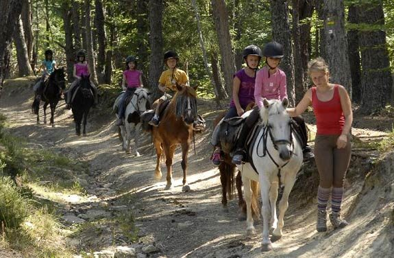 colonie vacances poney chien vercors | Destinations Cheval