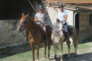Rando libre à cheval dans le Morvan