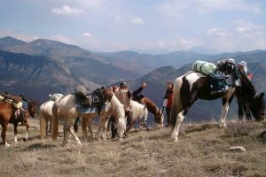 Rando cheval Monges et Merveilles