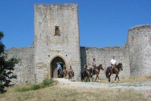 Rando à cheval, les Pyrénées et ses châteaux cathares