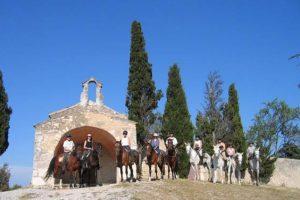 Randonnée à cheval Luberon Alpilles Camargue