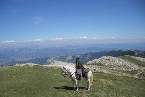 Randonnée à cheval la montagne de Lure
