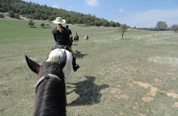 randonnee cheval montagne lure | Destinations Cheval