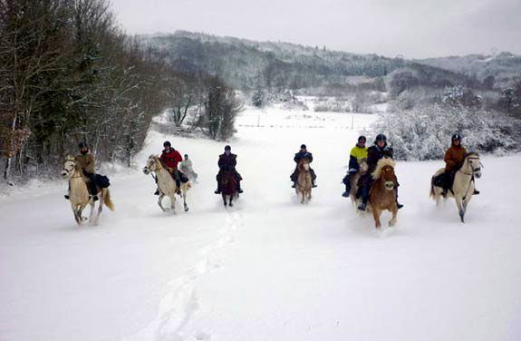 randonnee cheval neige jura | destinations cheval