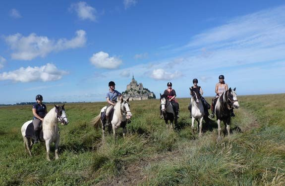 randonnee cheval pointe du grouin mont saint michel | Destinations Cheval