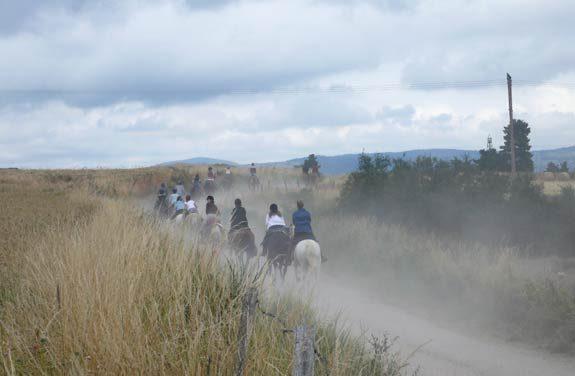 randonnee equestre gevaudan margeride | Destinations Cheval