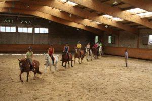 Stage équitation ado dans le Vercors, 11-17 ans