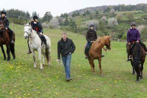 Stage d'équitation ado en Lozère, 13-17 ans