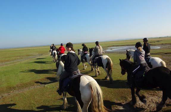 weekend cheval plage mont saint michel | Destinations Cheval