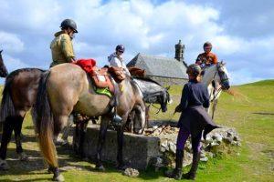 Randonnée à cheval les monts d'Arrée