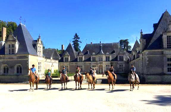 week cheval chateaux loire | destinations cheval