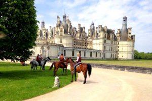 Week end cheval châteaux de la Loire