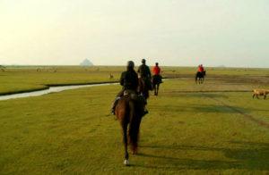 balade cheval mont saint michel | Destinations Cheval