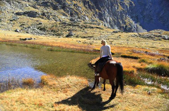 voyage à cheval la vallée des merveilles