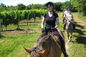 Week-end équestre randonnée dans le Gers