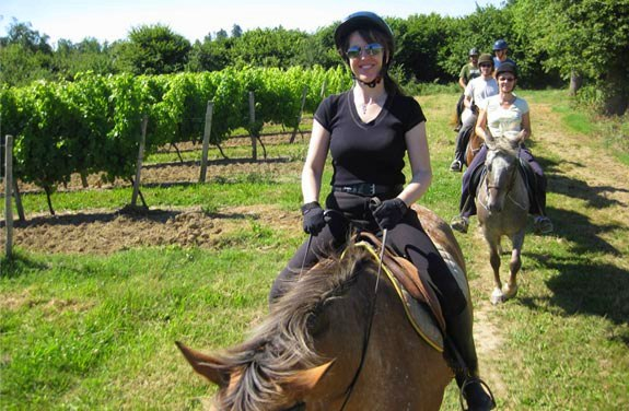 initiation à cheval dans le gers