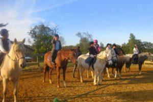 Week-end à cheval pour débutant dans le Gers