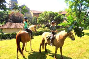 Initiation à l'équitation dans le Gers