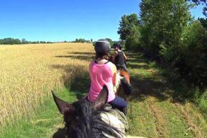 Un stage d'équitation pour enfant et ado en Lot et Garonne