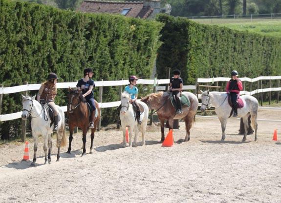 stage d'équitation pour enfant et ado